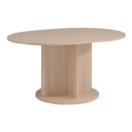 Warren Round Table with Central Extension, Sesame Oak