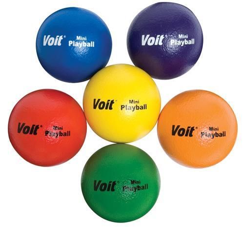 Voit Tuff Balls - Soft-Low Bounce, Colored - 5''