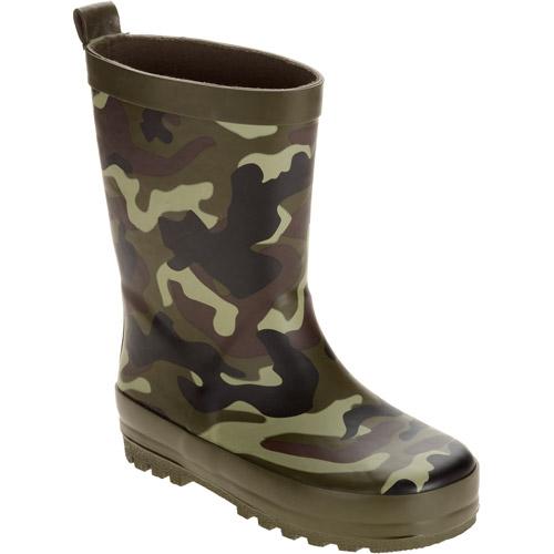 Boys' Toddler Camo Print Rain Boot