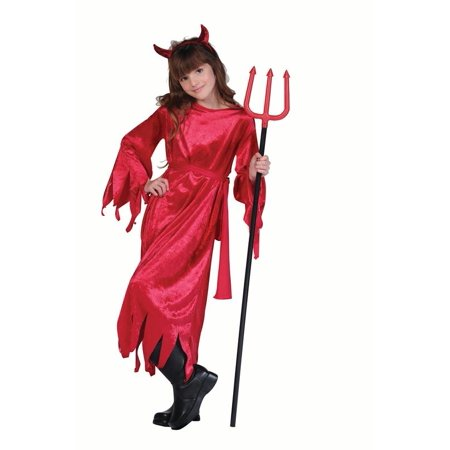 Velvet Devil Child Costume