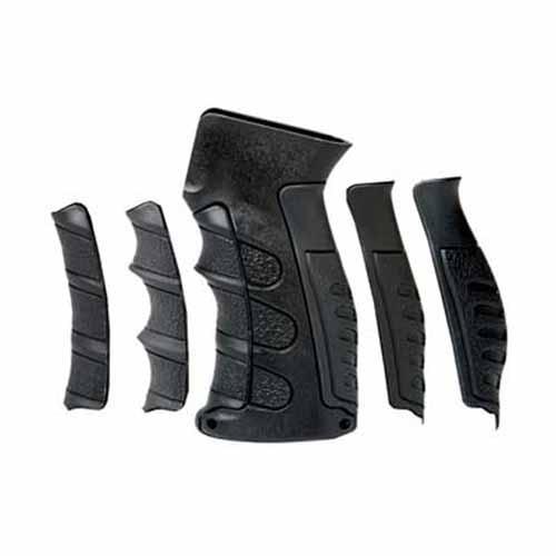 AK47 Replacement Pistol Grip w/6 Grooves & Backstraps