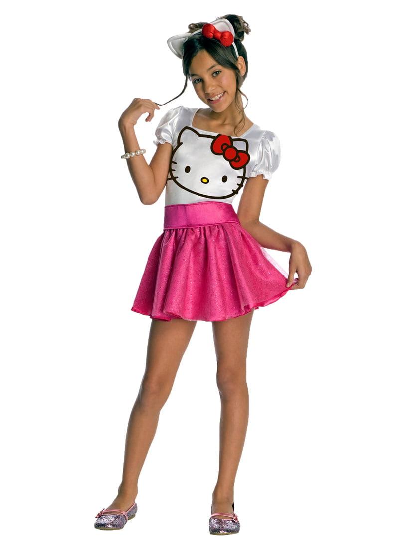 hello kitty child halloween costume walmartcom - Halloween Hello Kitty Costume