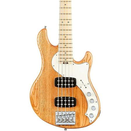 Fender American Elite Dimension Bass V Hh  Maple  Electric Bass Guitar Level 2 Natural 190839137982