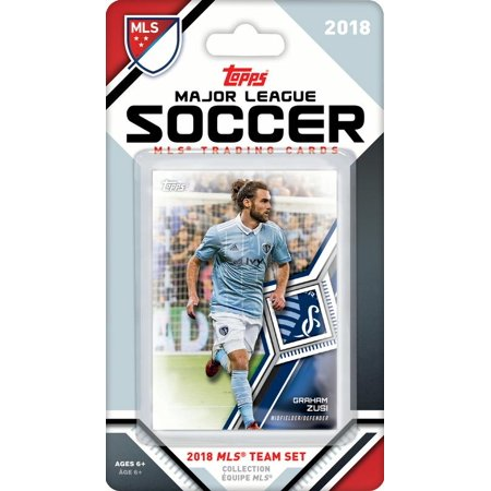 Sporting Kansas City 2018 Topps MLS Soccer Factory Sealed 9 Card Team Set with Graham Zusi and Tim Melia plus