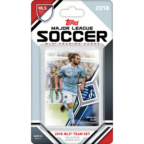 Sporting Kansas City 2018 Topps Mls Soccer Factory Sealed 9 Card Team Set With Graham Zusi And Tim Melia Plus Walmart Com Walmart Com