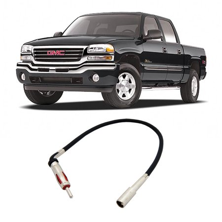 GMC Sierra 1988-2006 Factory Stereo to Aftermarket Radio Antenna Adapter Plug