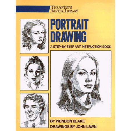 Portrait Drawing : A Step-By-Step Art Instruction (Best Driving Instruction Books)