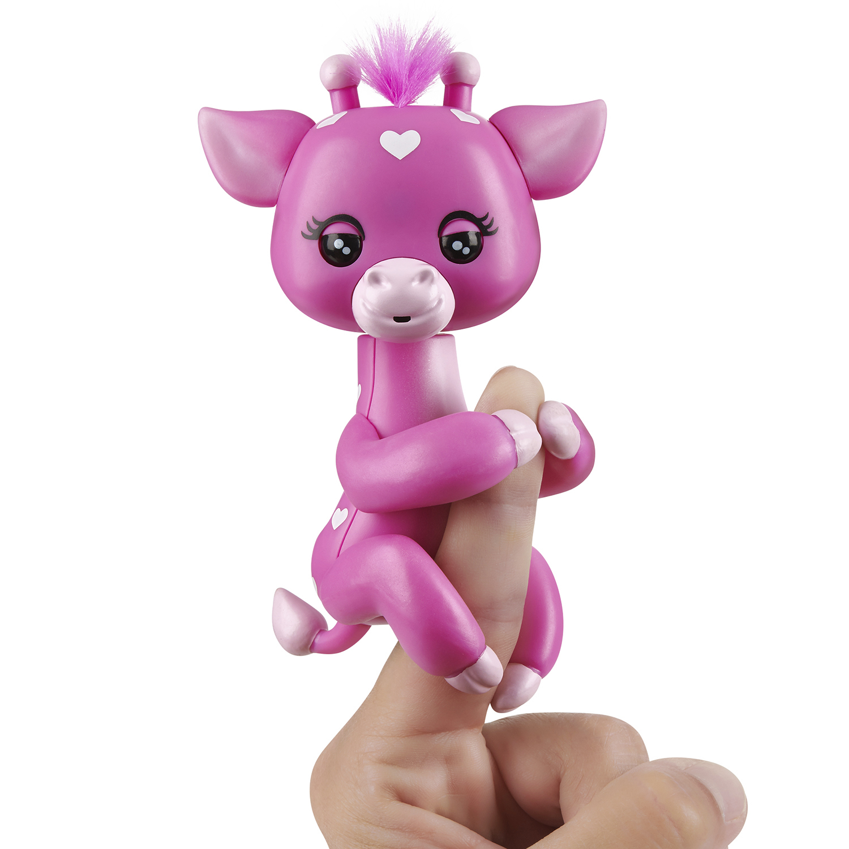 AURORA Baby Gigi Girafe 20842 Marionnette /à Doigts Rose