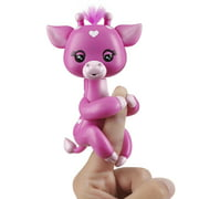 Fingerlings Baby Giraffe - Meadow (Pink) - Friendly Interactive Toy by WowWee