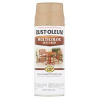 2-Pack Value - Rust-oleum stops rust multicolor textured radiant brass spray paint, 12 oz