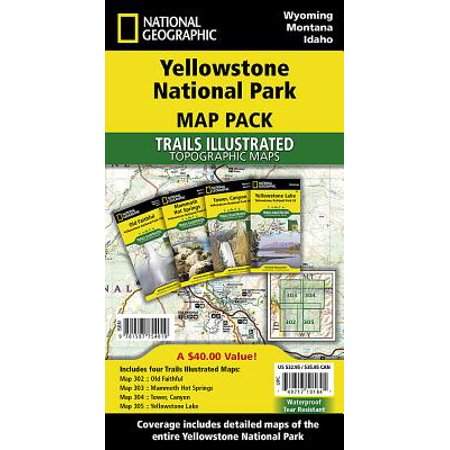 Yellowstone national park [map pack bundle] (other):