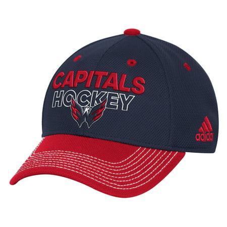 Washington Capitals Adidas NHL Authentic Locker Room Structured Flex Hat -  Walmart.com e0ce7c2d663