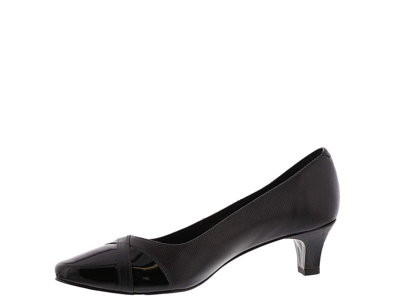 Walking Cradles Womens Michaela Black Patent 6.5 M US