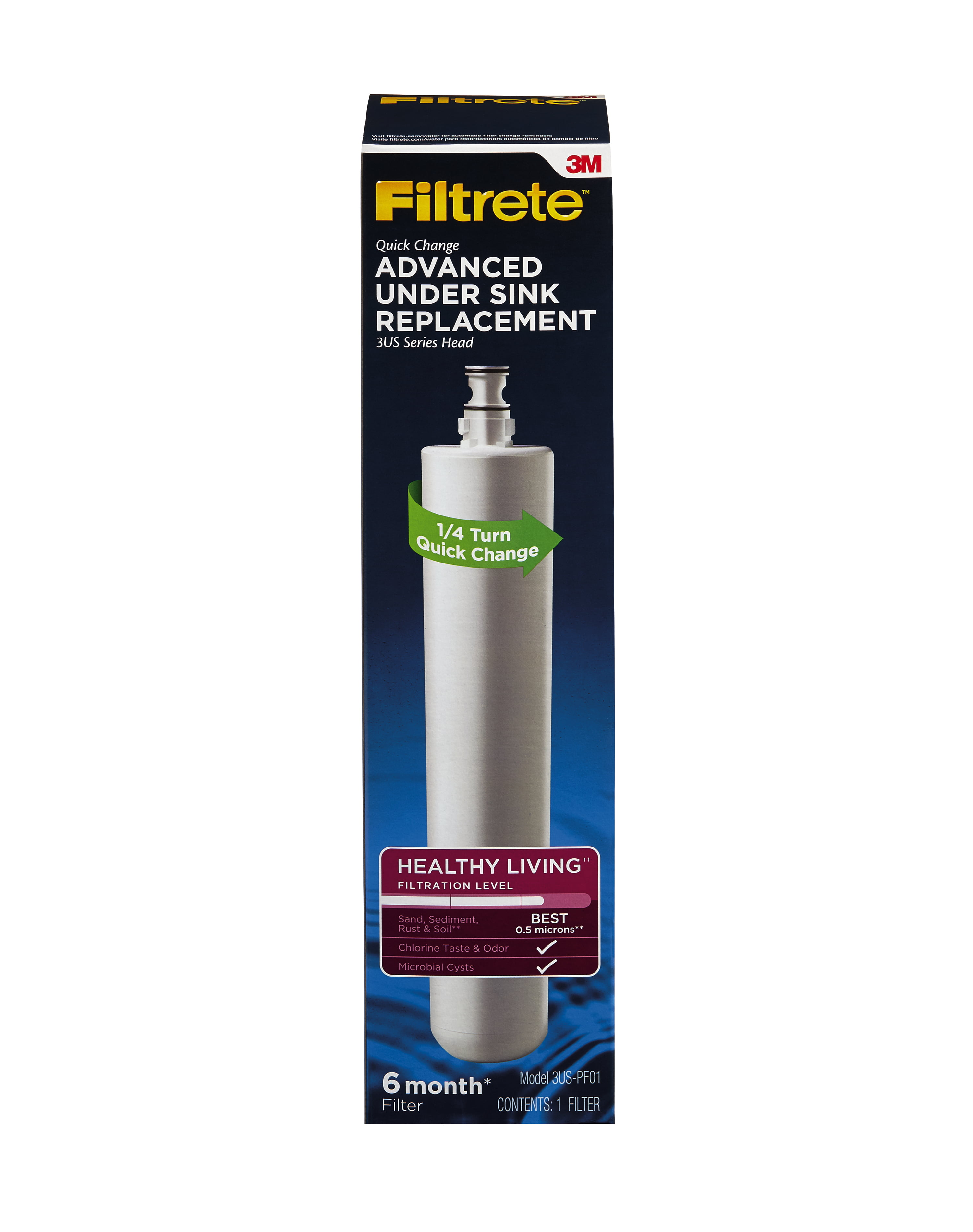 Filtrete Advanced Under Sink Replacement Filter by 3M COMPANY