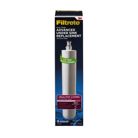 Filtrete Advanced Under Sink Replacement Filter (Best Under Sink Water Filter 2019)