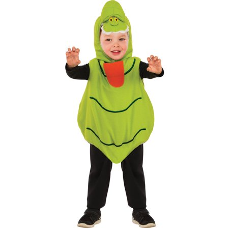 Slimer Ez-On Romper Toddler Halloween Costume - Slimer Inflatable