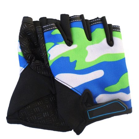 Children's Gloves Cycling Half Finger Bicycle Gloves Non-slip Child Bike Gloves Riding Equipment Mountain Bicycle Gloves
