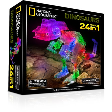 Laser Pegs National Geographic 24-in-1 Dinosaurs