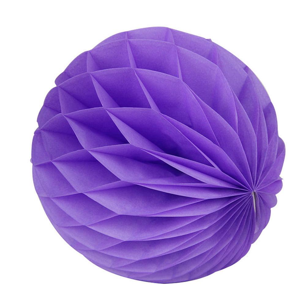 Mosunx 5Pcs Paper Lantern Honeycomb Balls Tissue Pom Party Wedding Hanging Decoration