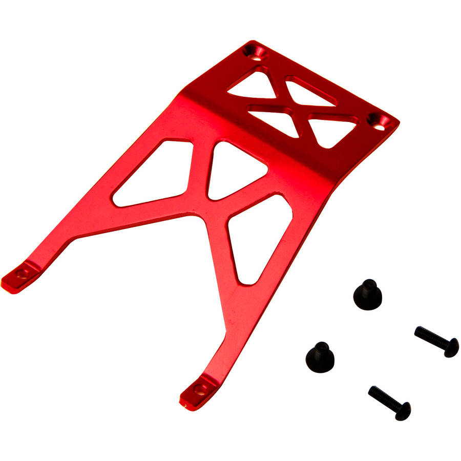 Atomik Alloy Front Skid Plate Traxxas Stampede 2WD, 1:10, Red
