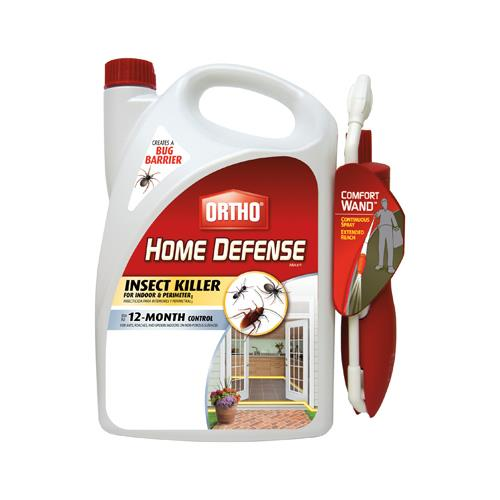 Scotts Ortho Roundup 0220910 Home Defense Max Insect Killer With Wand, 1.1-Gal. Bonus Size