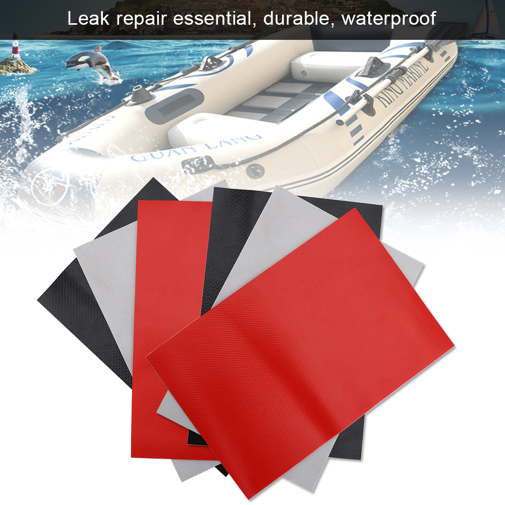 3pcs PVC Repair Patches Kit Set Accessory for Inflatable Raft Boat Canoe Kayak , inflatable kayak patch, inflatable boat repair patch