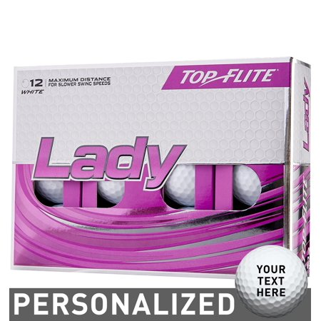 Top Flite Women's 2019 Lady Personalized Golf (Best Womens Golf Balls 2019)