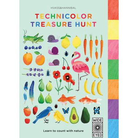 Technicolor Treasure Hunt: Learn to Count with Nature (Board Book) - Treasure Hunt Halloween Clues