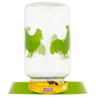 Happy Home Pet Products Feeder or Waterer for Chickens