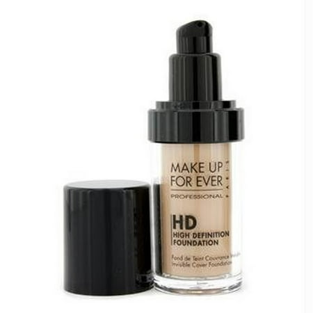 MAKE UP FOR EVER HD Invisible Cover Foundation 125 Sand 1.01 oz