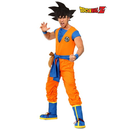 Dragon Ball Z Authentic Goku Men's Costume - Dbz Goku Costume