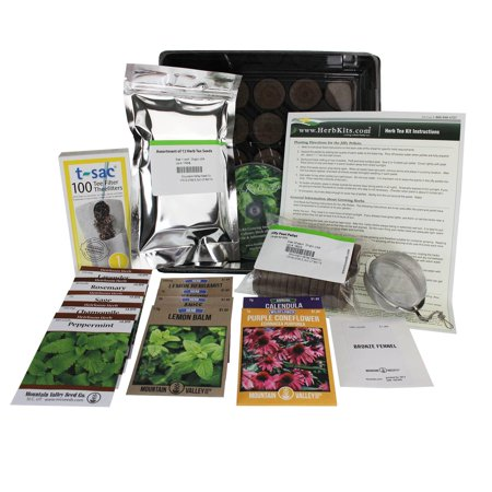 Indoor Tea Garden Indoor herbal tea garden kit grow herb tea herbs chamomile indoor herbal tea garden kit grow herb tea herbs chamomile catnip more workwithnaturefo