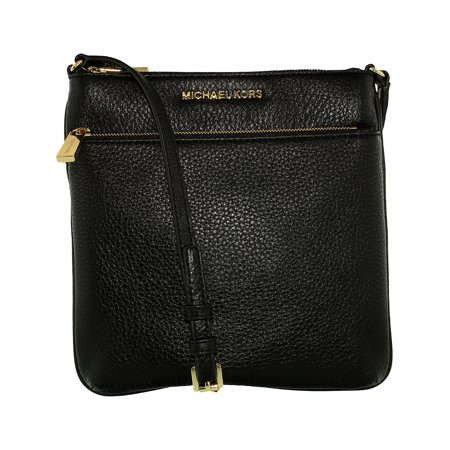 61f0bf772a8973 Michael Kors - Michael Kors Women's Small Riley Pebbled Leather Crossbody  Leather Cross Body Bag - Black - Walmart.com