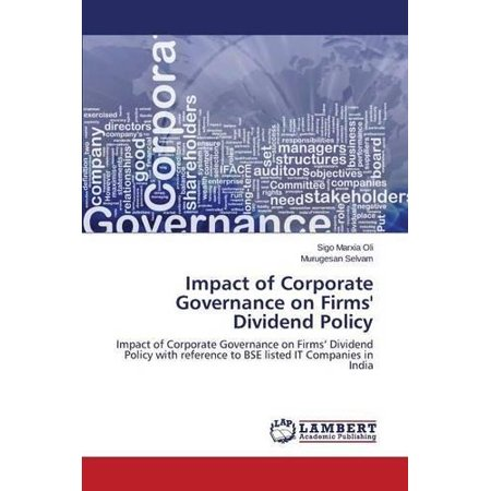 (Impact of Corporate Governance on Firms' Dividend Policy)