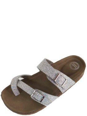 68e59abf759182 Product Image Girls Wonder Nation Sandal Footbed Slide