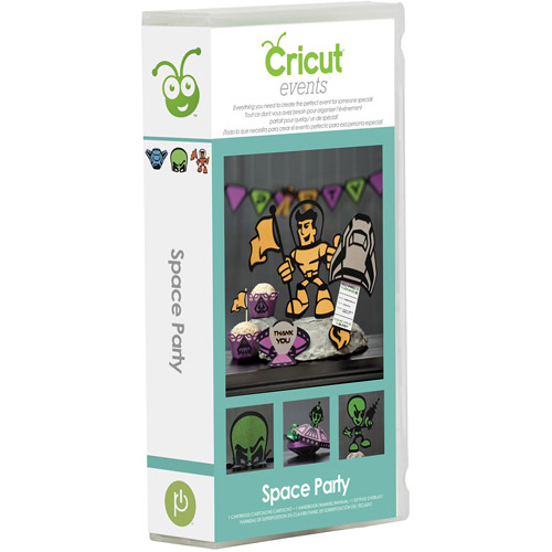 Cricut Events Space Party Cartridge