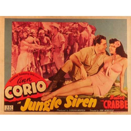 Jungle Siren POSTER Movie B Mini Promo