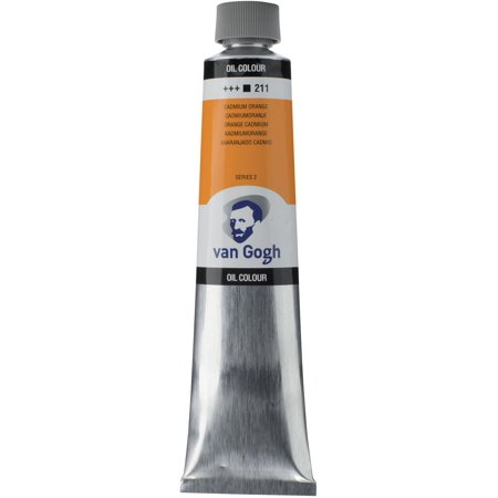 Van Gogh Oil Color, 200ml Tube, Cadmium Orange
