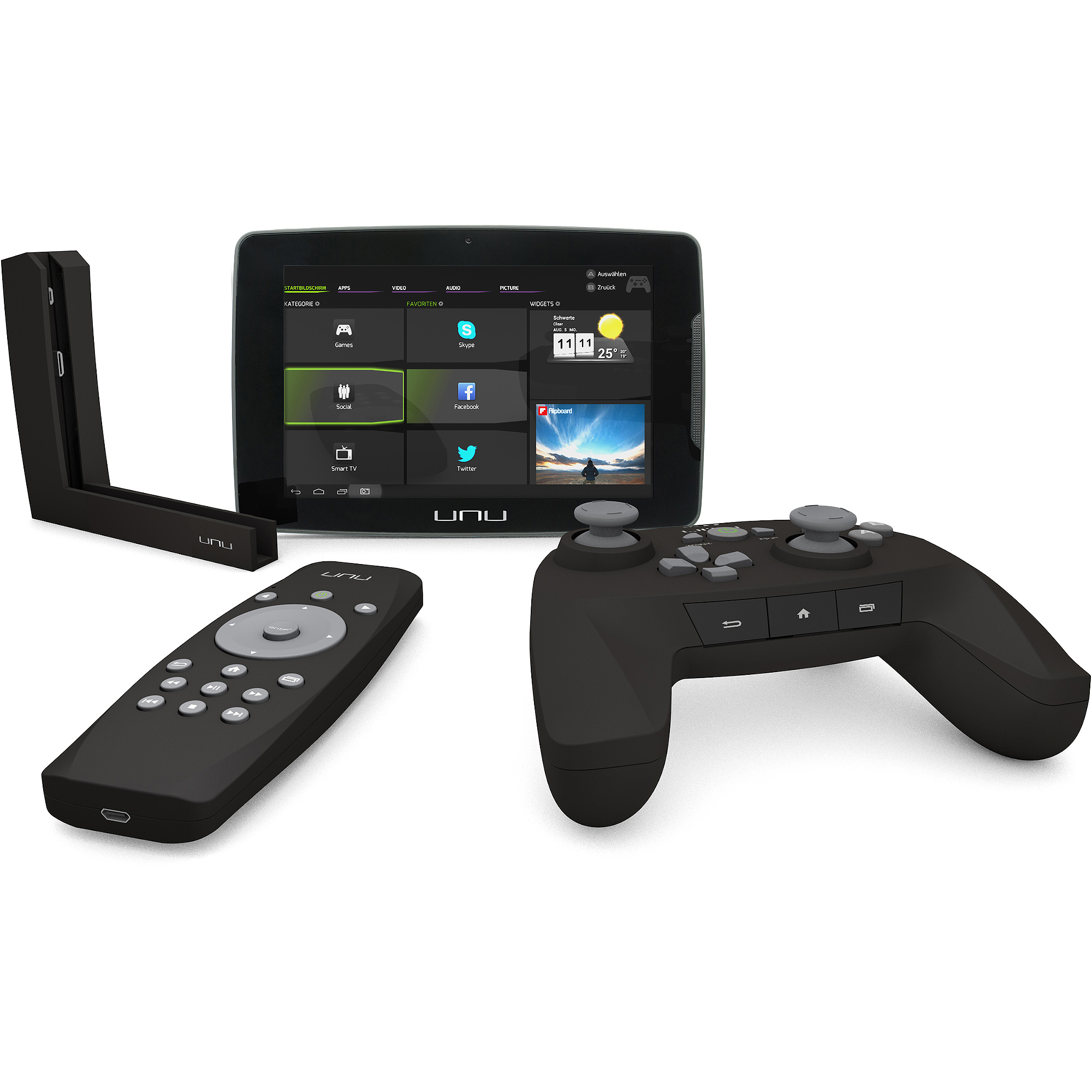 "Snakebyte Vyper Gaming Quad-Core 8GB Android 4.2 7"" Tablet w/ Dock & Controller"