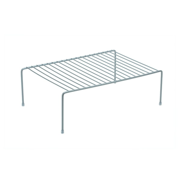 Kitchen Details Large Kitchen Shelf Organizer In Grey Walmart Com Walmart Com