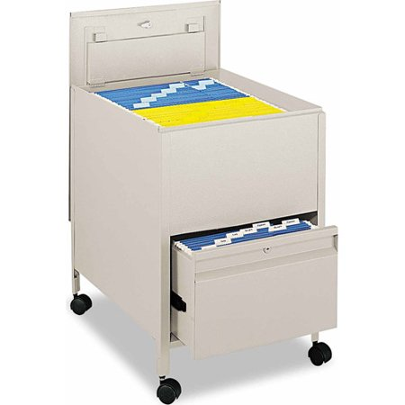 Safco Locking Mobile Tub File With Drawer Legal Size Walmartcom
