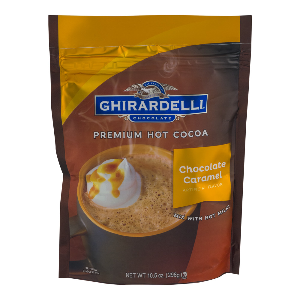 Ghirardelli Premium Hot Cocoa Chocolate Caramel, 10.5 OZ