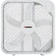 3-Speed Box Fan, White