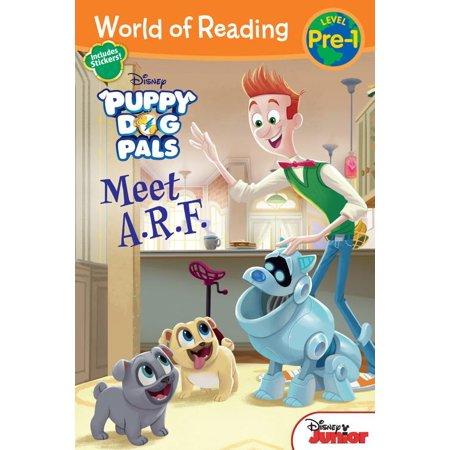 World Of Reading  Puppy Dog Pals Meet A R F