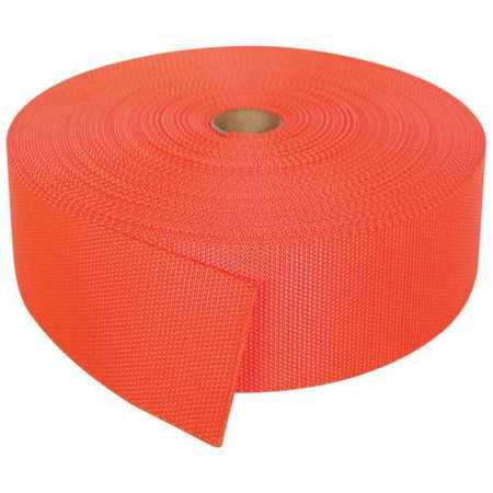 BULK-STRAP N02102OR Bulk Strap Webbing,102 ft x 2 In,7000 lb