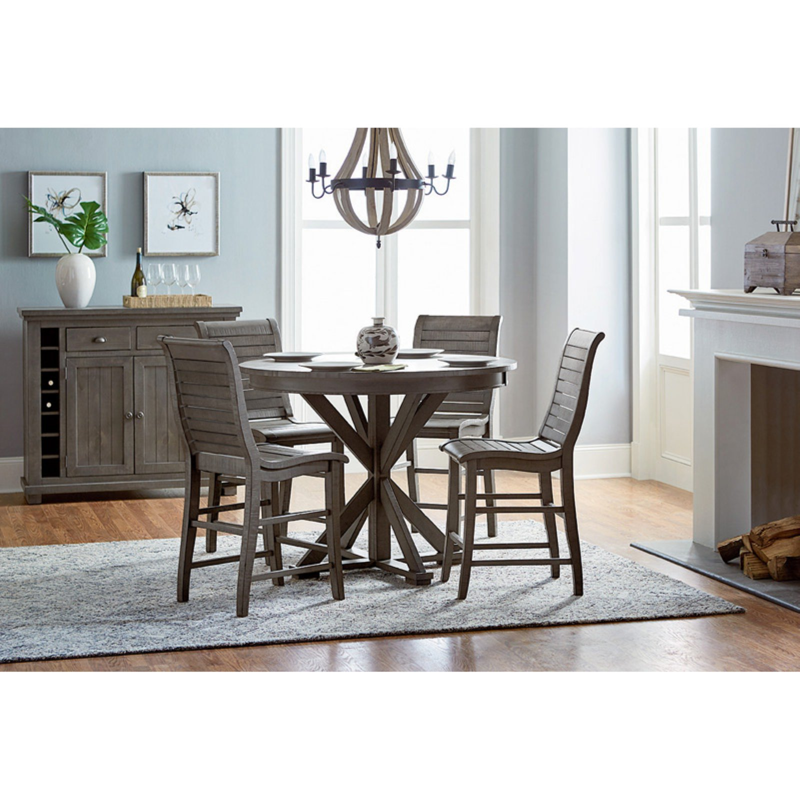 Progressive Furniture Willow Round Counter Table