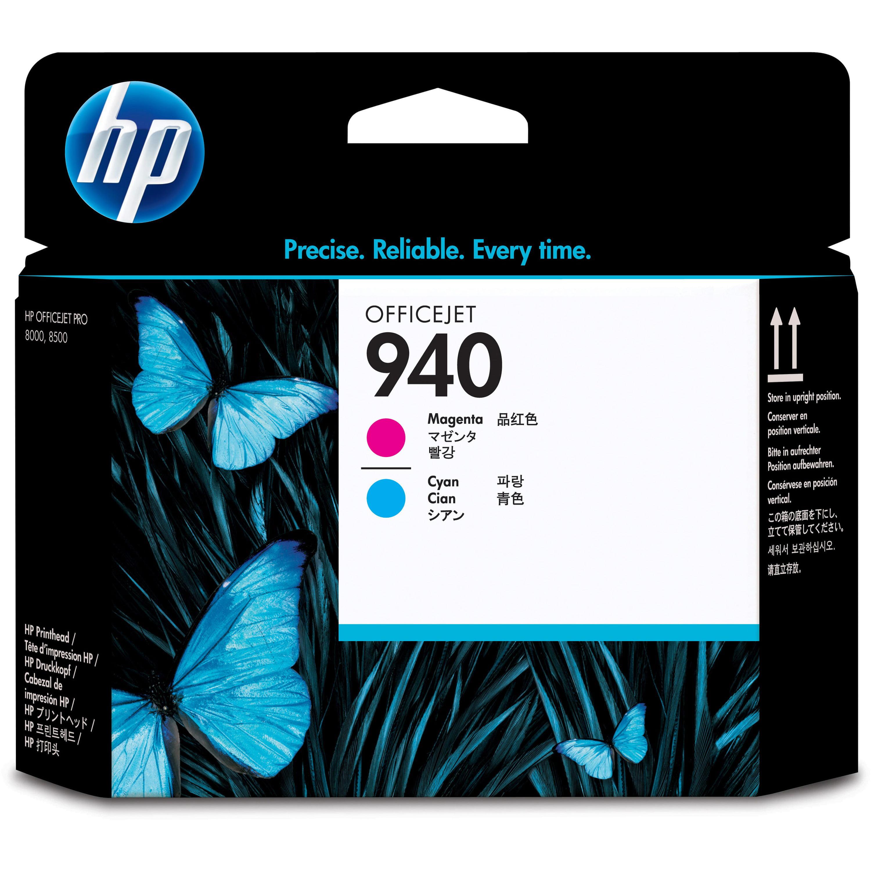 HP, HEWC4901A, 940 OfficeJet Magenta/Cyan Printhead, 1 Each