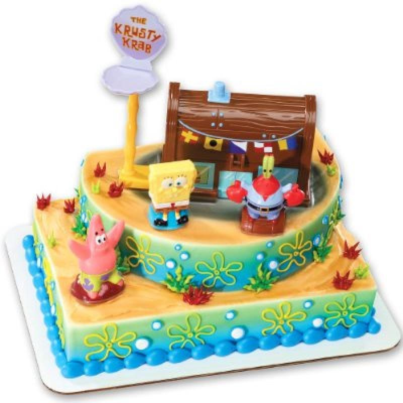 DecoPac SpongeBob Squarepants Krusty Krab Signature Deco Set