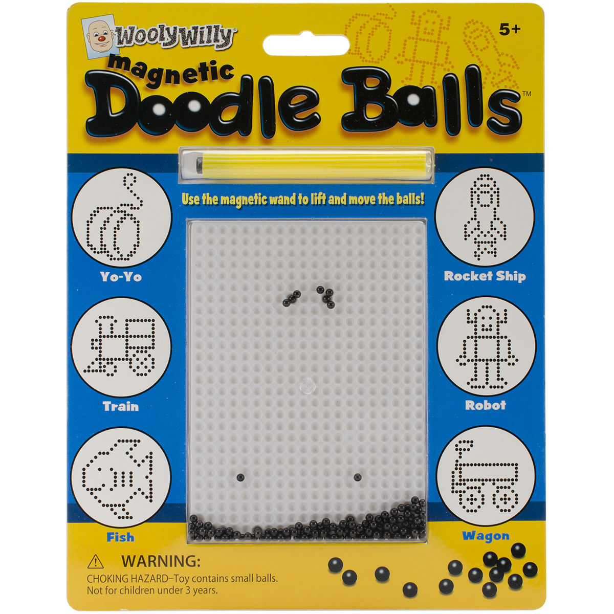 Wooly Willy Magnetic Game-Doodle Balls