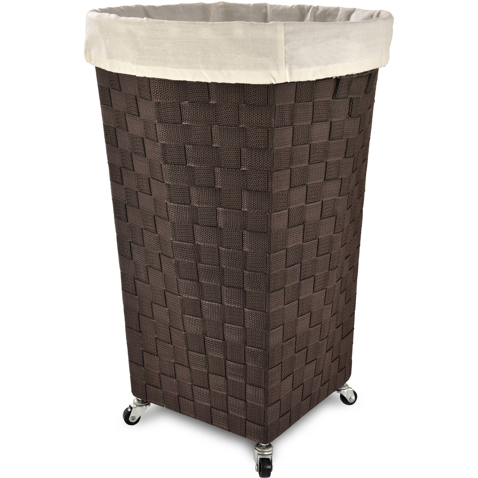 LaMont Home Linden Round Laundry Hamper